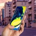 Etui Back żel SAMSUNG GALAXY A80 transparentne
