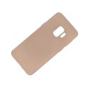 Etui soft jelly SAMSUNG G965 S9+ piaskowy
