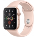 Smartwatch Apple Watch Series 5 GPS 40mm Aluminium złoty z różowy paskiem Sport