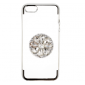 nemo Etui Diamond Stand IPHONE X/XS srebrne