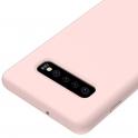 Etui Silicone Case elastyczne silikonowe SAMSUNG GALAXY S10+ S10 PLUS różowe