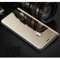 Etui z klapką Clear View Cover XIAOMI REDMI 7 złote