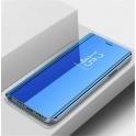 Etui z klapką Clear View Cover HUAWEI Y6 2019  niebieskie