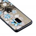 nemo Etui Slim Art SAMSUNG S9 niebieski kwiat 2