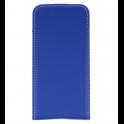Kabura pionowa etui obudowa z klapką Rubber SAMSUNG GALAXY A6+ PLUS niebieska