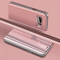 Etui SAMSUNG GALAXY S10E Clear View Cover różowe