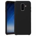 nemo Etui Silicone Case elastyczne silikonowe SAMSUNG GALAXY A6+ A6 PLUS czarne