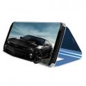 Etui z klapką Clear View Cover HUAWEI P30 czarne