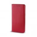 Etui portfel Flip Magnet  HUAWEI Y6 2019 czerwone