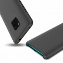 Etui Silicone Case elastyczne silikonowe HUAWEI MATE 20 PRO czarne