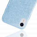 Etui Brokat Glitter SAMSUNG GALAXY A6 2018 niebieskie