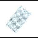 Etui Polaroid diamond iPhone 4 niebieskie