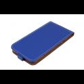 Kabura pionowa Rubber LG K8 2018/LG K9 niebieska