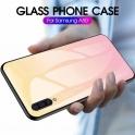 Etui Szklane Glass case Gradient SAMSUNG GALAXY A20E jasny róż