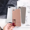 Etui Lustro Mirror Anti shock IPHONE 7 różowe