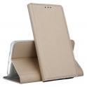 Etui portfel Flip Magnet  SAMSUNG A6+ złote