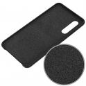Etui Silicone Case elastyczne silikonowe HUAWEI P30 czarne