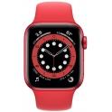 Smartwatch Apple Watch Series 6 GPS + Cellular 40mm Aluminium czerwony z czerwonym paskiem Sport
