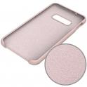 Etui Silicone Case elastyczne silikonowe SAMSUNG GALAXY S10 różowe