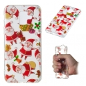 Etui Slim Art SAMSUNG A6 2018 Święty Mikołaj