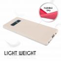 Etui Silicone Case elastyczne silikonowe SAMSUNG GALAXY S8 szare