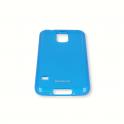 Etui Polaroid soft slim Samsung S4 niebieski
