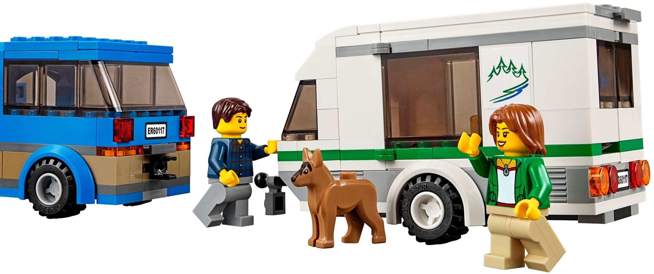 Klocki Lego City Van Z Przyczepą Kempingową 60117 Archiwum Do