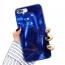 Etui 3D Lustro Mirror Obudowa Diamond Stone SAMSUNG GALAXY S10e niebieskie