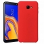 Etui Silicone Case elastyczne silikonowe SAMSUNG GALAXY J4+ Plus czerwone