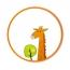 YEELIGHT Lampka Sufitowa Led Dziecięca - Żyrafa