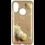 Etui Brokat Glitter SAMSUNG GALAXY J4+ J4+ Plus złoty kwiat
