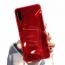 Etui 3D Lustro Mirror Obudowa Diamond Stone SAMSUNG GALAXY S10e czerwone