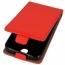 Kabura pionowa rubber HUAWEI HONOR 9 czerwona